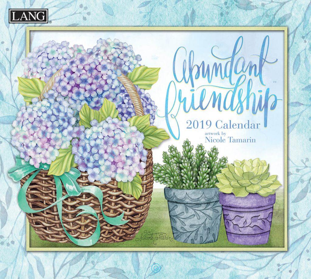 Abundant Friendship 2019 Lang Kalender