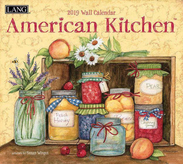 American Kitchen 2019 Lang Kalender