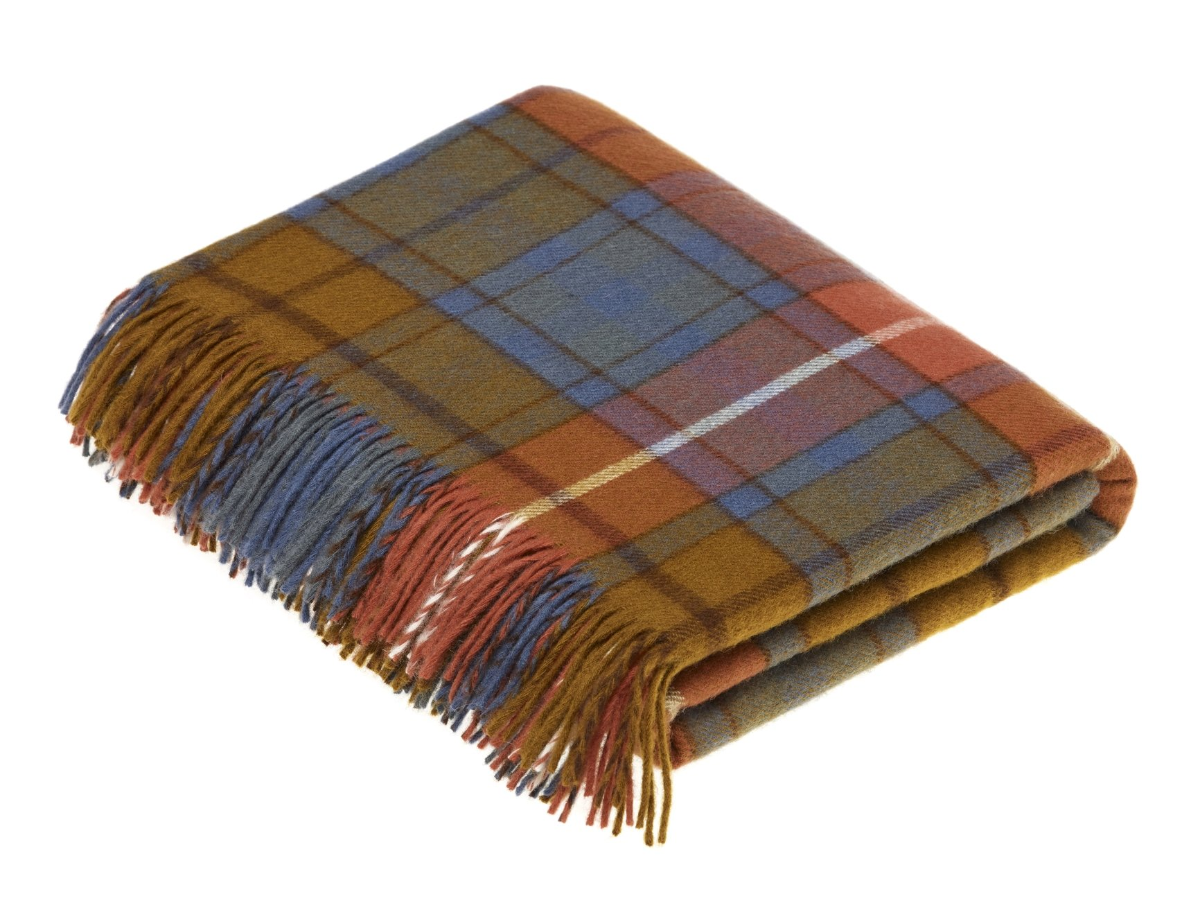 Antique Buchanan Merino Wool Tartan.