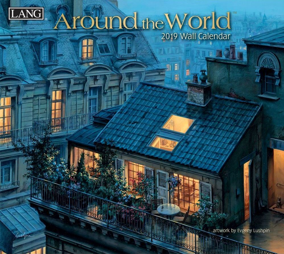 Around The World 2019 Lang Kalender