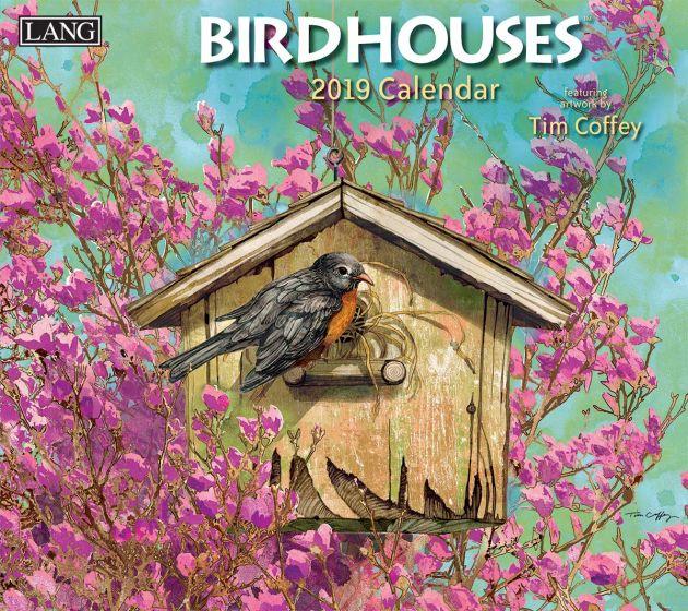 Birdhouses 2019 Lang Kalender