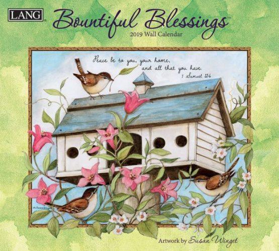 Bountiful Blessings 2019 Lang Kalender