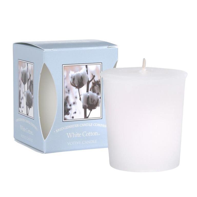 Bridgewater Geurkaarsje White Cotton