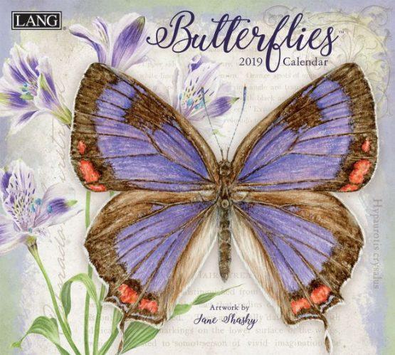 Butterflies 2019 Lang Kalender