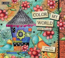 Color My World 2019 Lang Kalender