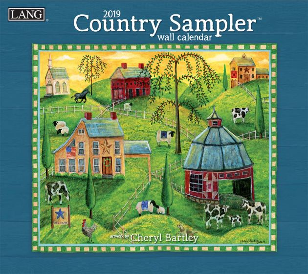 Country Sampler 2019 Lang Kalender