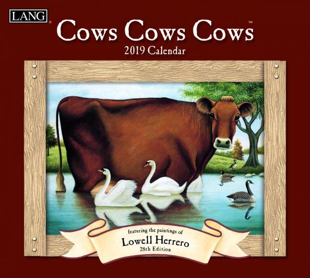 Cows Cows 2019 Lang Kalender