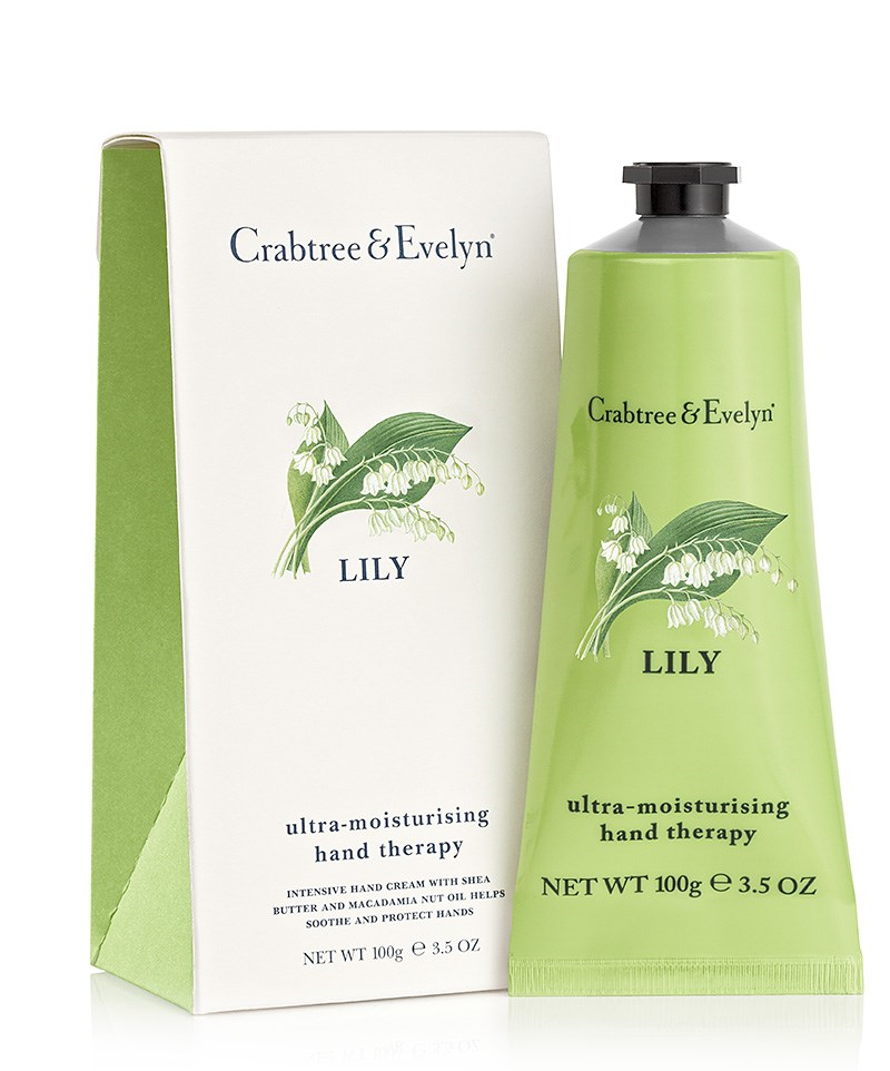 crabtree and evelyn lily of the valley hand therapy cream. Black Bedroom Furniture Sets. Home Design Ideas