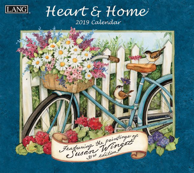 Heart & Home 2019 Lang Kalender