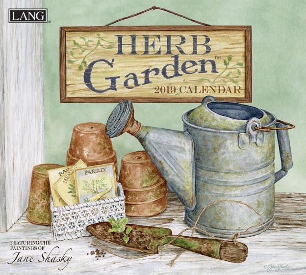 Herb Garden 2019 Lang Kalender