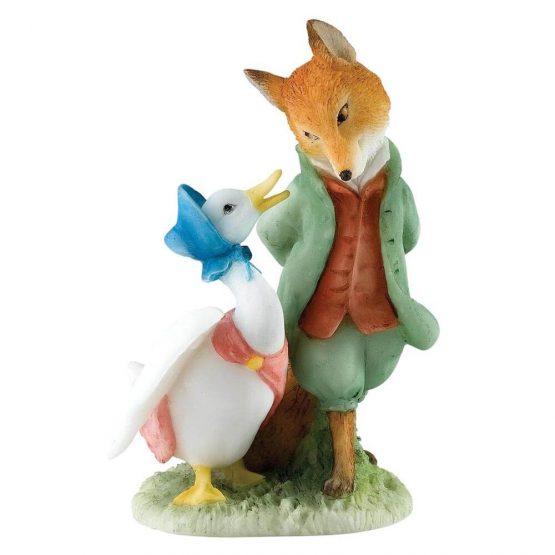 Beatrix Potter Jemina en Foxy Whiskered Gentleman