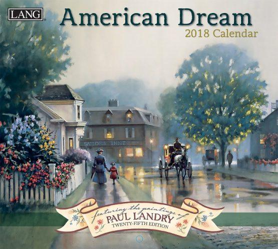 Lang American Dream 2018 Kalender