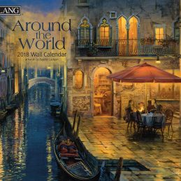 Around the World 2018 Lang Kalender
