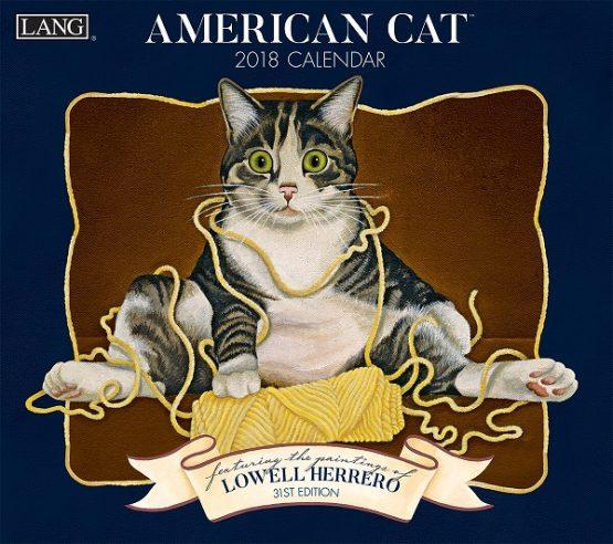 American Cat 2018 Lang Kalender