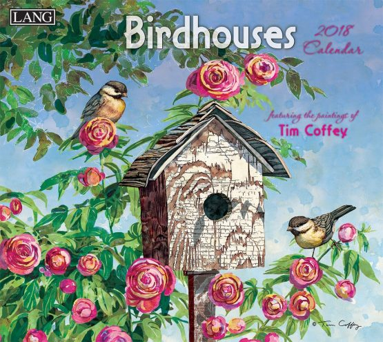 Birdhouses 2018 Lang Kalender