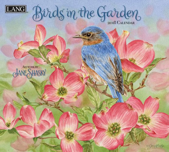 Birds in the Garden 2018 Lang Kalender