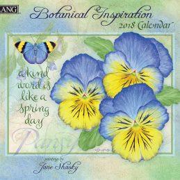 Botanical Inspiration 2018 Lang Kalender