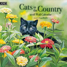 Cats in the Country 2018 Lang Kalender