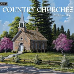 Country Churches 2018 Lang Kalender Royalshop.nl