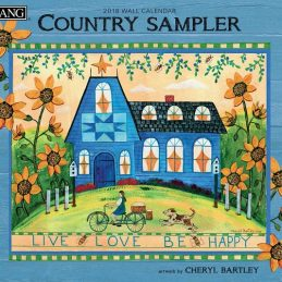 Country Sampler 2018 Lang Kalender Royalshop.nl