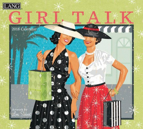 Girl Talk 2018 Lang Kalender Royalshop.nl