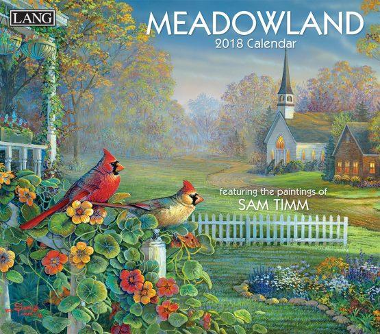 Lang Meadowland 2018 Kalender
