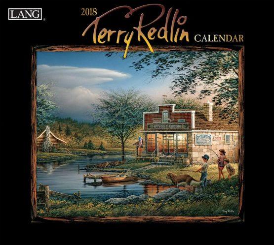 Lang Kalender Terry Redlin 2018 Royalshop.nl
