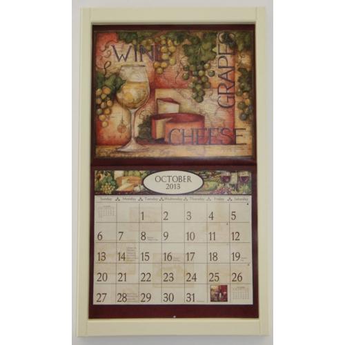 Aktie Lang Frame voor Kalender