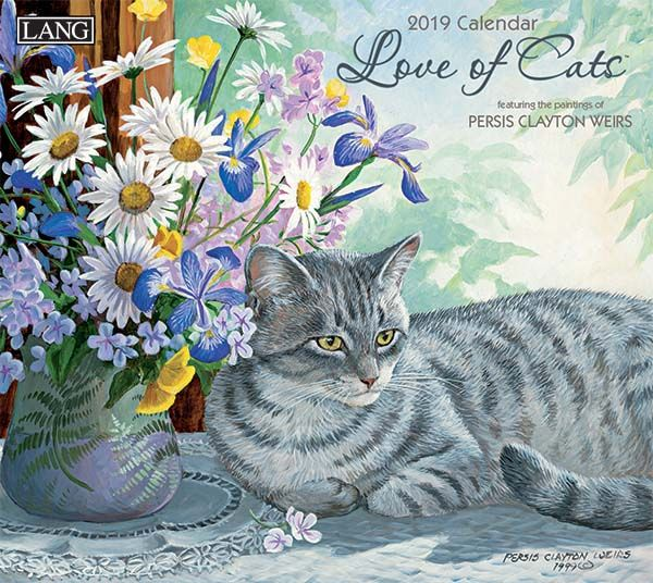 Love of Cats 2019 Lang Kalender