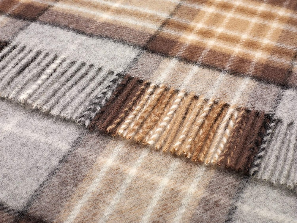 Mckellar Pure Wool Plaid Bronte