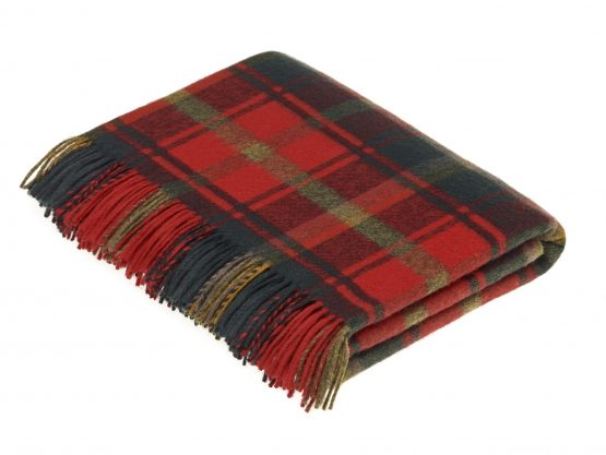 Merino_wool_Dark_Maple_Tartan_LWTR012