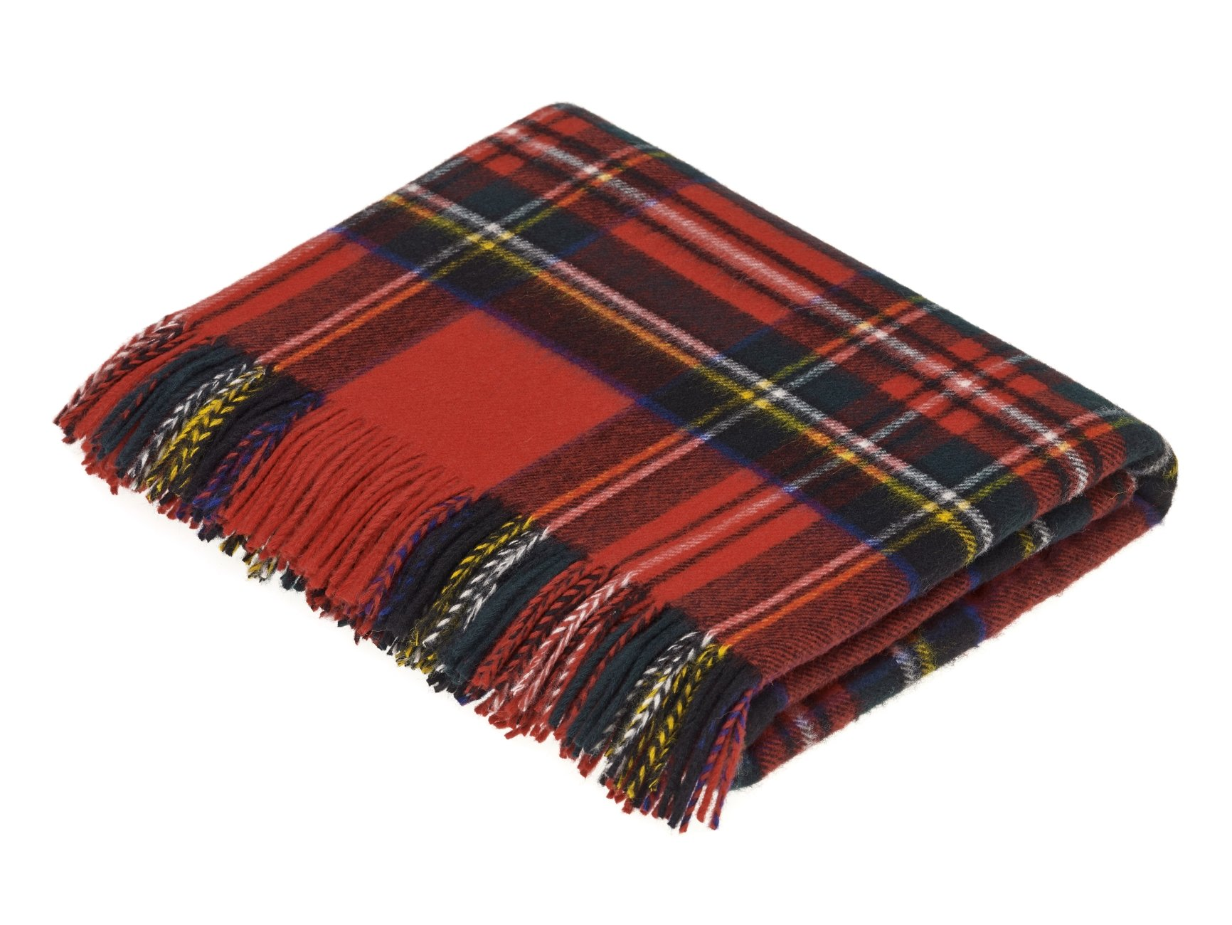 Royal Stewart Lambswool Tartan Plaid