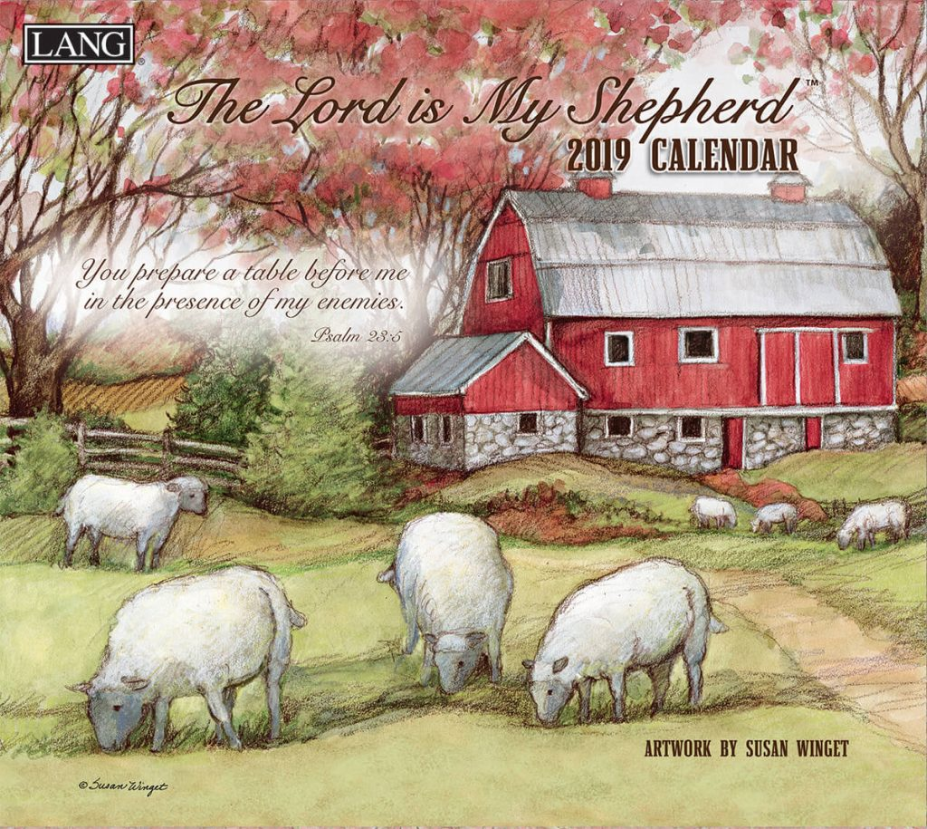 The Lord Is My Shepherd 2019 Lang Kalender
