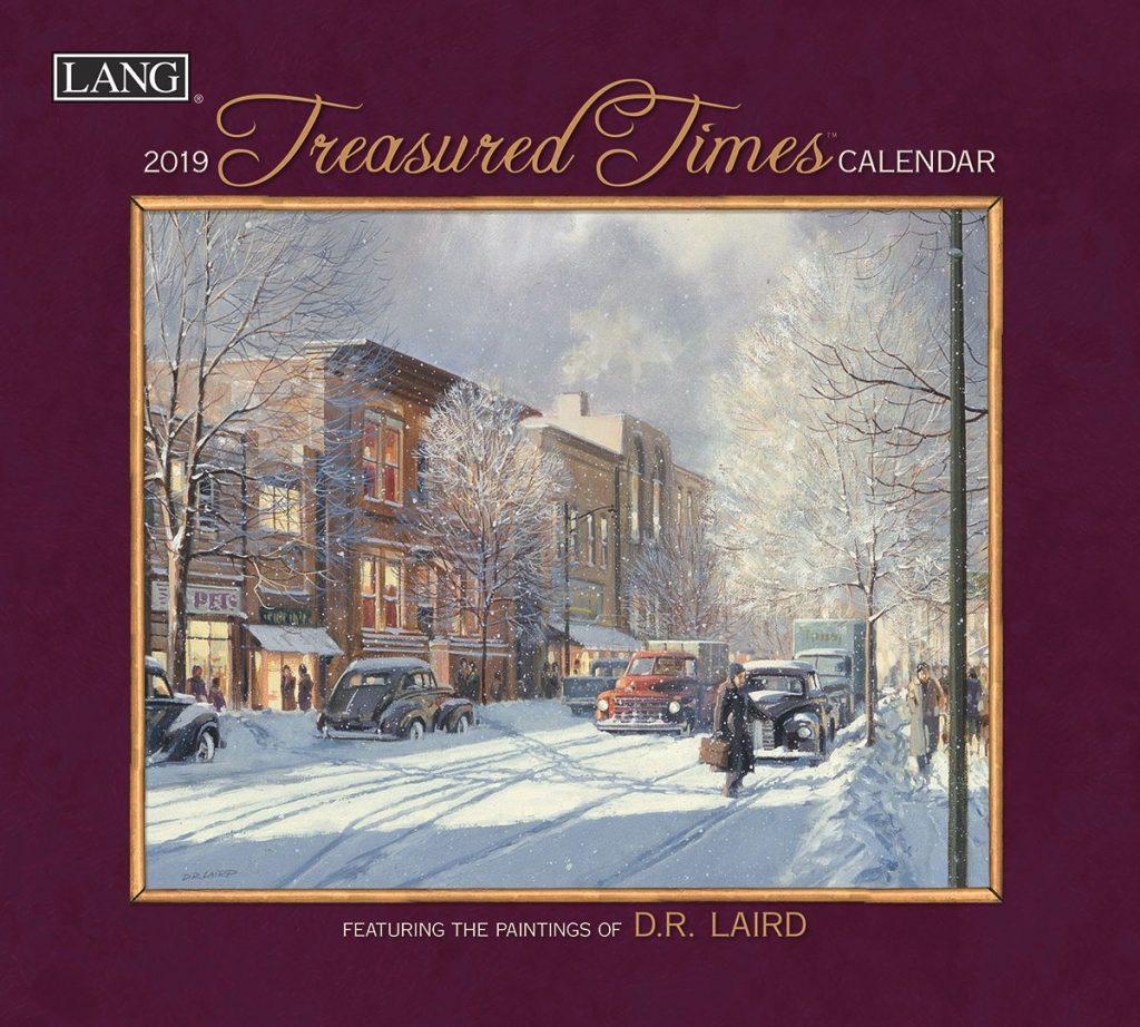 Treasured Times 2019 Lang Kalender