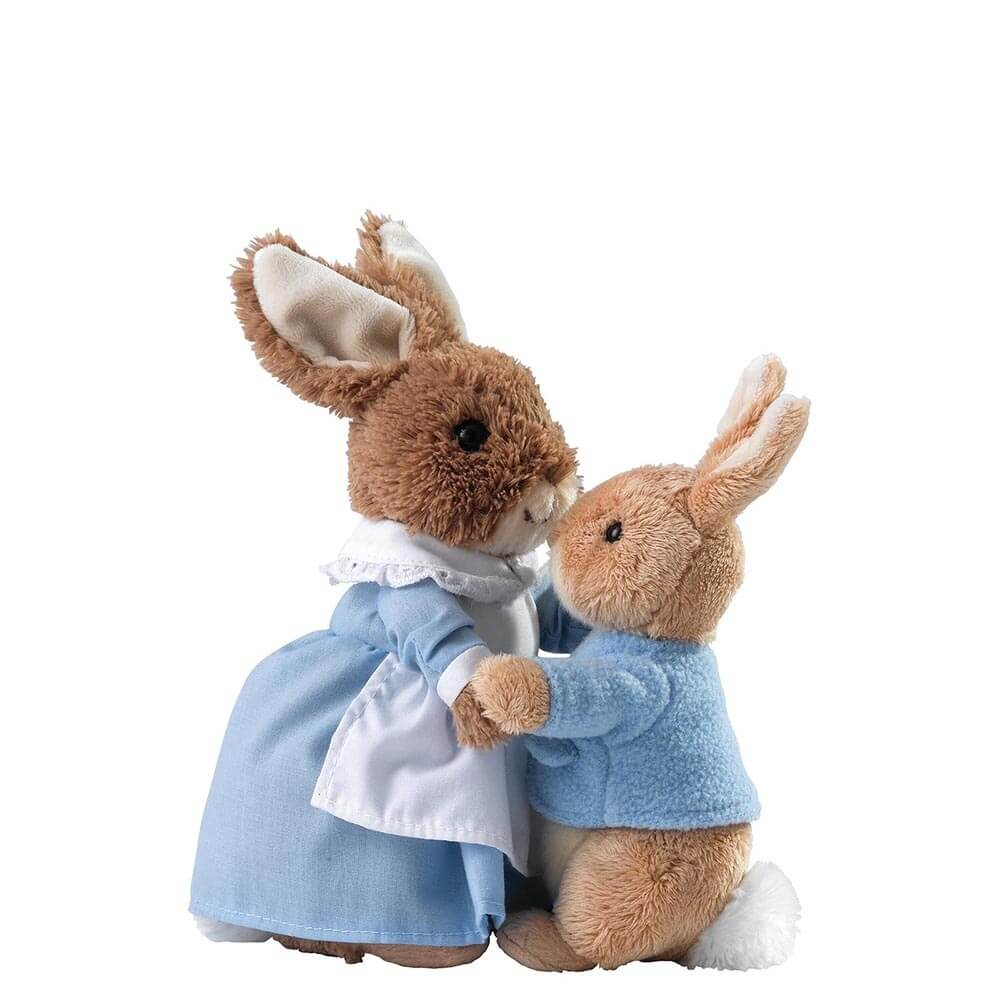 Mrs Rabbit en Peter Rabbit A28256