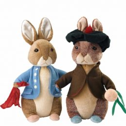 Limited Beatrix Potter Rabbit en Benjamin Bunny A2857