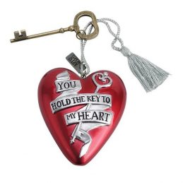 Mrs and Mr Heart Art You hold the key of my Heart