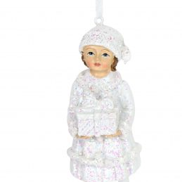 Frosted Rose Garden Child 12878