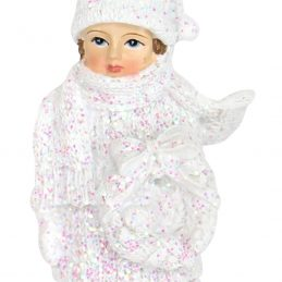 Frosted Child Ornament 12878_3