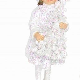Frosted Child Rose Garden Ornament 12878_1
