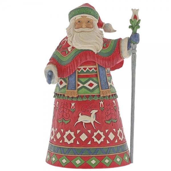 Lapland Santa with Staff 6001463 Jim Shore