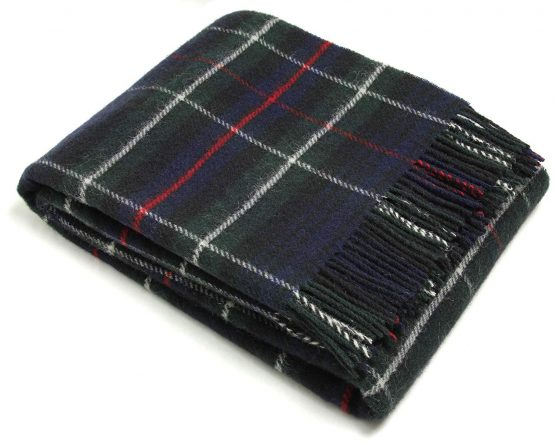 McKenzie Plaid Pure Wool Bronte