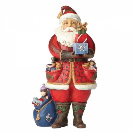 Santa Holding Presents 4058787 Jim Shore