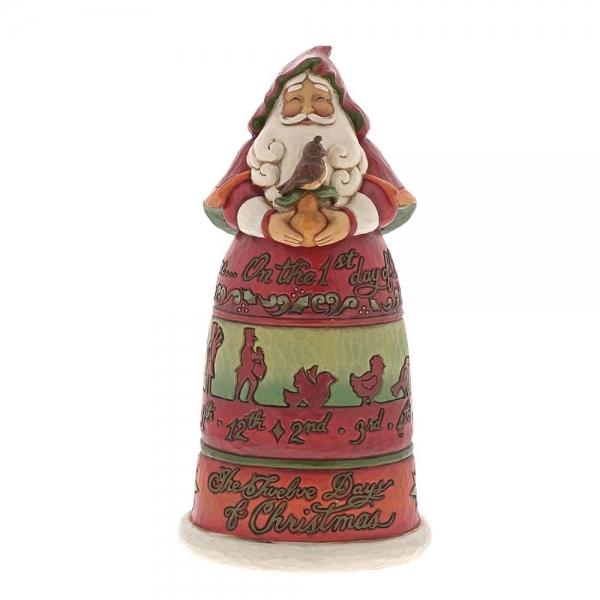 Twelve Days of Christmas Santa 6001462 by Jim Shore