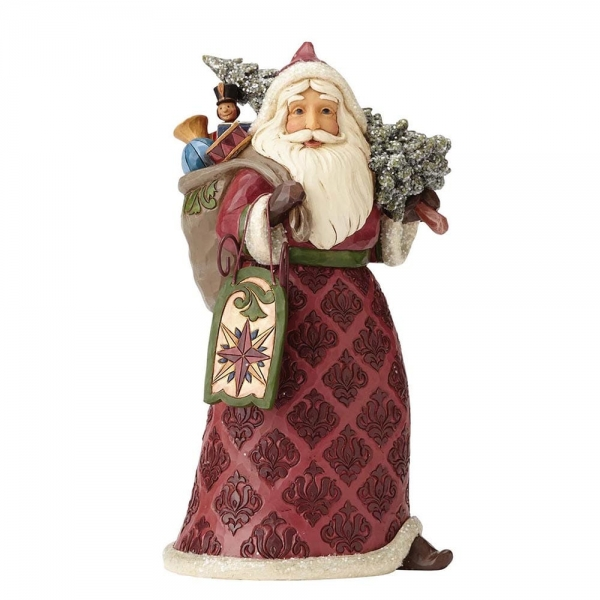 Victorian Santa with Sled 4058751 Jim Shore