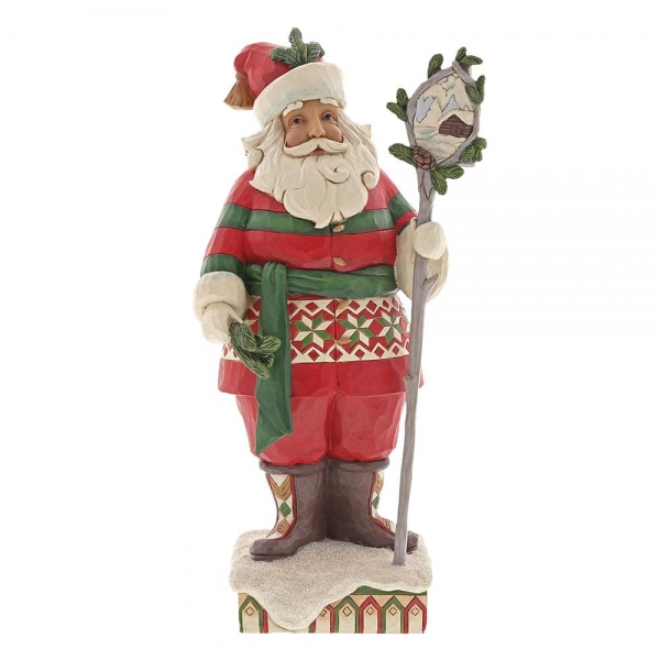 Woodsy Santa with Staff 6001469 Jim Shore