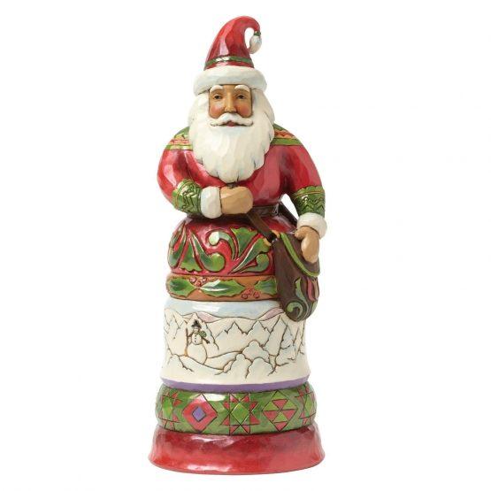 Regal Santa With Bag 4042964 Jim Shore