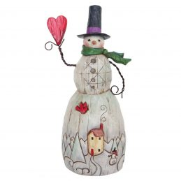 Snowman with Heart 4058768 by Jim Shore