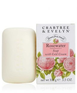 Rosewater Miled Soap Crabtree-Evelyn